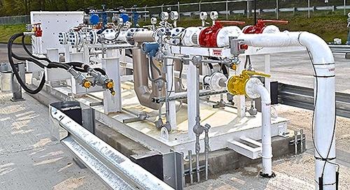 Prefabricated NGL LPG Transfer Skids_