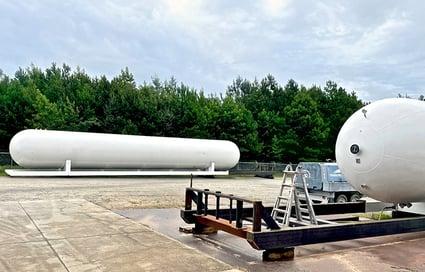 LPG ASME Storage Tank Refurbishment 3