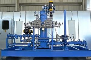 LPG Propane Butane Vertical Steam Vaporizer