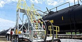 NLG LPG Transloading Solutions - Portable Transloader For Rail Car Transloading