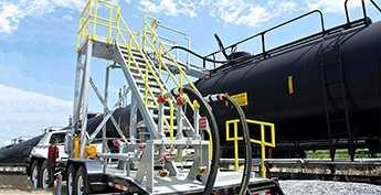 NLG LPG Transloading Solutions - Portable Transloader For Rail Car Transloading