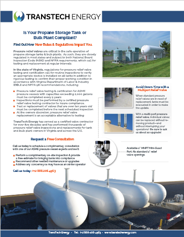 Multiport Relief Valve Inspection & Upgrades Brochure - Download