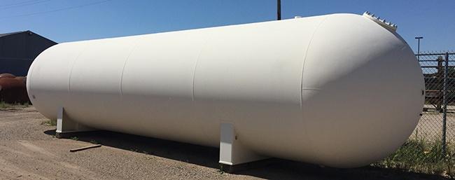 NEW 18,000 gallon NGL LPG Butane ASME Storage Tanks for Sale