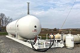 LPG Propane Storage Skids
