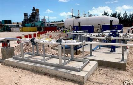 Propane Iso Tank Storage - Power Generation EPC - Carribean