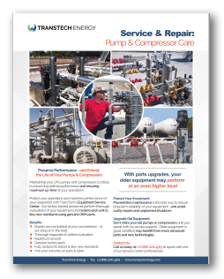 Pump & Compressor Maintenance & Repair - Free Brochure