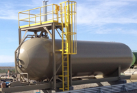 30,000 gallon ngl lpg modular storage skids