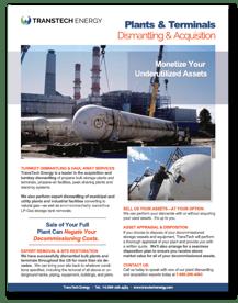 Tank Dismantling & Acquisition