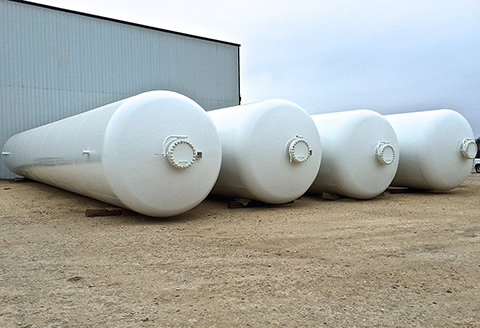 90,000 Gallon LPG NGL Storage Tanks for Sale
