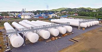Modular LPG Propane Terminal - Design Engineering Construction