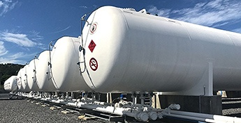 Propane Supply Storage for LPG Power Generation - Storage Terminal Engineering Construction