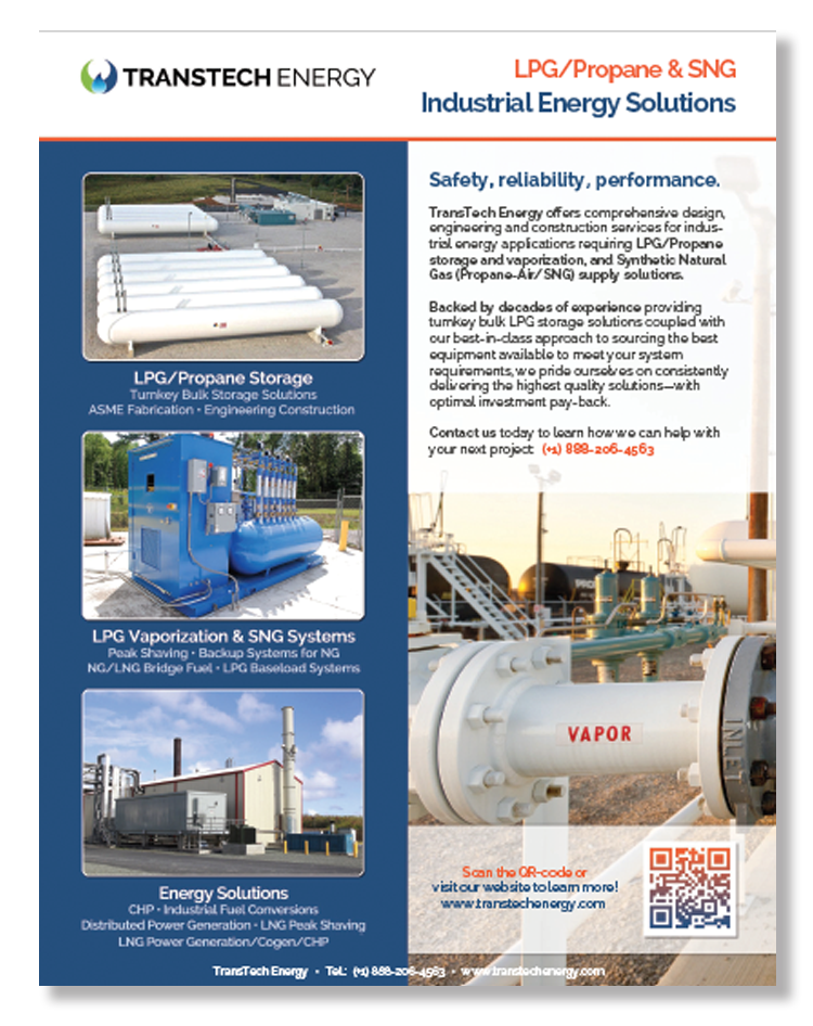 TransTech - Industrial Energy Solutions_SNG LPG Solutions_Brochure