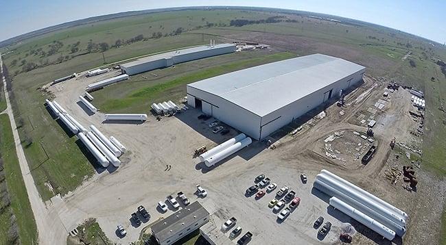 TransTech - McGregor, Texas  - Fabrication Facility_