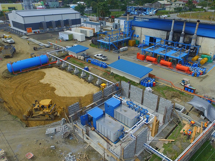 LPG storage facility for power generation