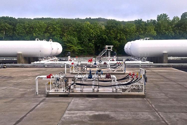NGL LPG Propane Liquid Transfer Skids
