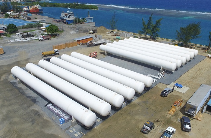 LPG Propane NGL Marine Terminal - Engineering Construction