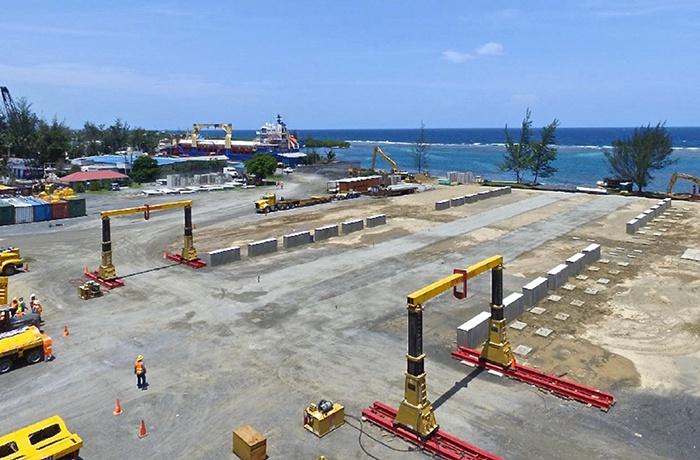 Modular Terminal Solutions - LPG Tank Piers in a Row