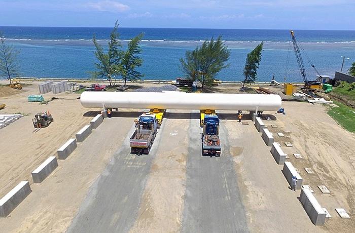 Modular Terminal Construction - LPG Tank Placement