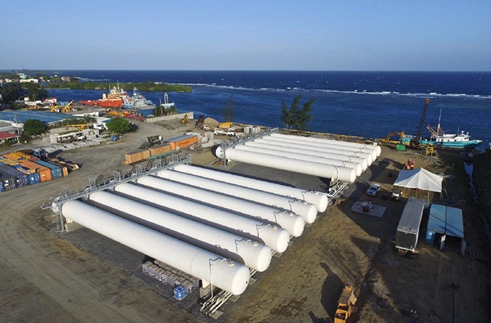 Modular Terminal Construction - Multi LPG Tank Battery