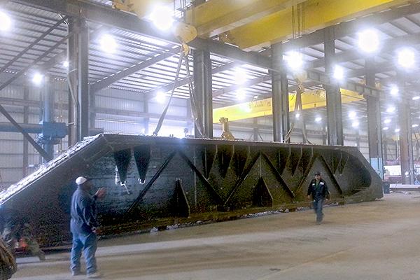 1 - Custom Aerospace Equipment Fabrication - Beam & Girder Fabrication