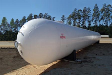 15,000 Gallon Used ASME Storage Vessel for Sale