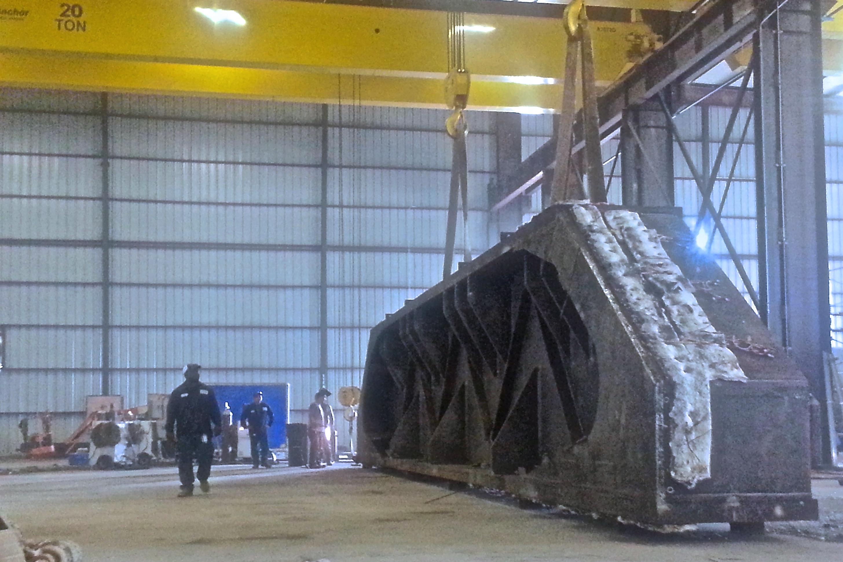 3 - Custom Heavy Steel Fabrication - Space Aeronatuics