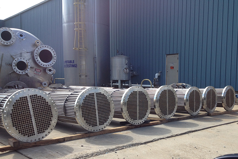 3 - Multiple Heat Exchangers Being Fabricated