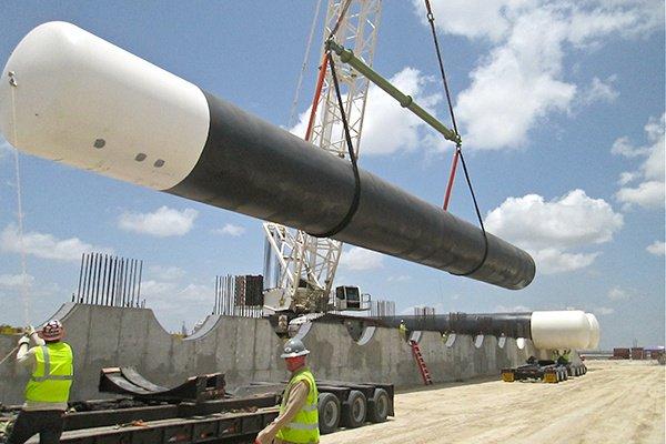 3 - NGL LPG Propane Butane Storage Tanks Installation