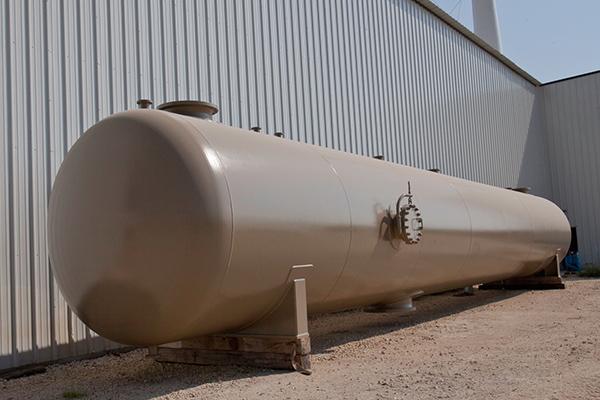 3-Phase Separator - Horizontal Vessel - Fabrication