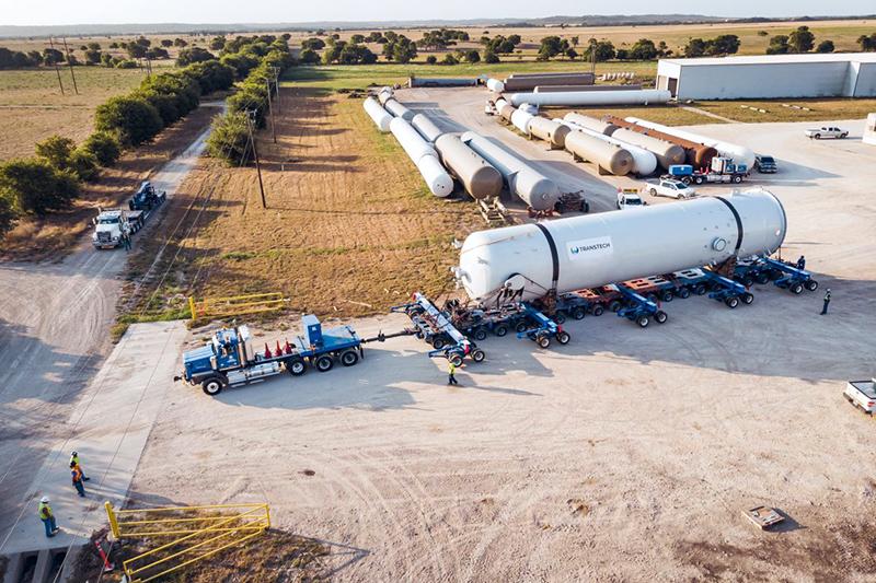 4 - Super Capacity ASME Tank Fabrication Services and Logistics