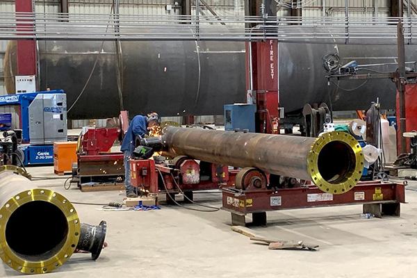 6 - Heavy Steel Fabrication - Stainless Steel - Carbon Steel - Nickel Alloys - Duplex