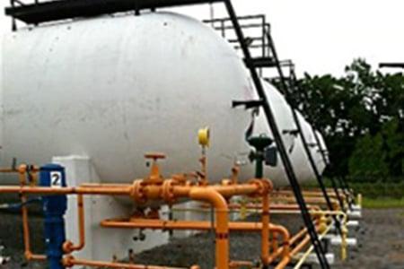 60,000 Gallon Used ASME Storage Tanks for Sale