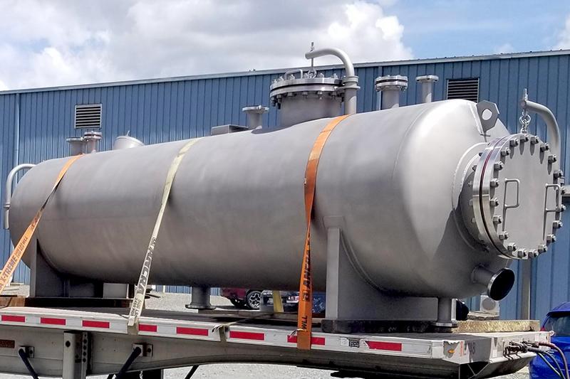 8 - Cusom ASME Pressure Vessel Fabrication