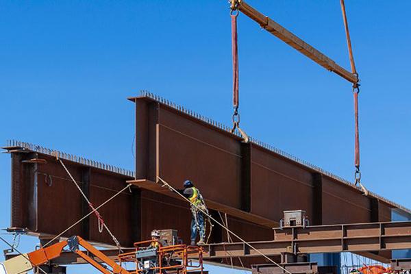 8 - Custom Heavy Fabrication - Steel Beams & Girders - Aerospace