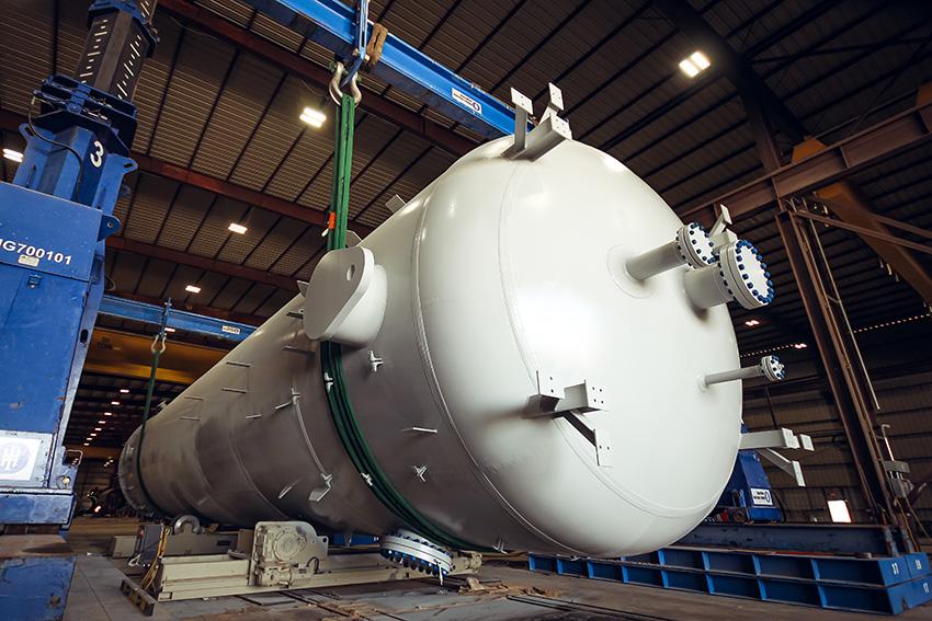 8 - Large Diameter ASME Tank Fabrication