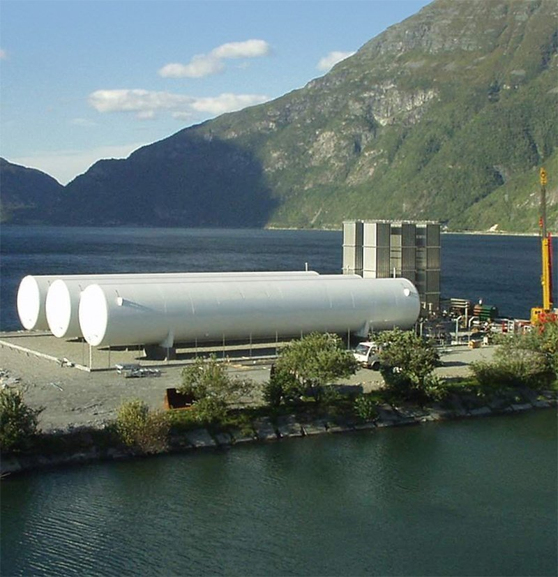 9 - LNG Storage Terminal - LNG Storage Tanks - EPC - Engineering Construction