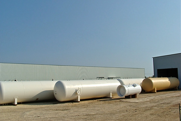 Custom Fabricated Process and Storage Vessels