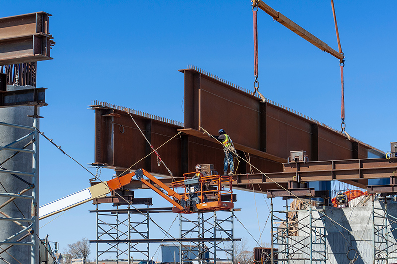 Custom Heavy Fabrication - Steel Beams & Girders - Rails