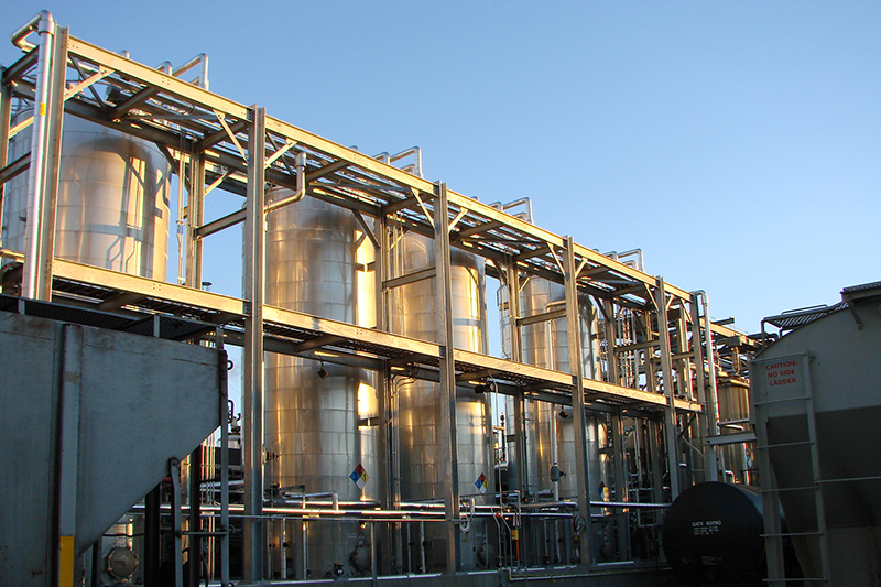 Custom Industrial Fabrication Services - API Storage Tanks