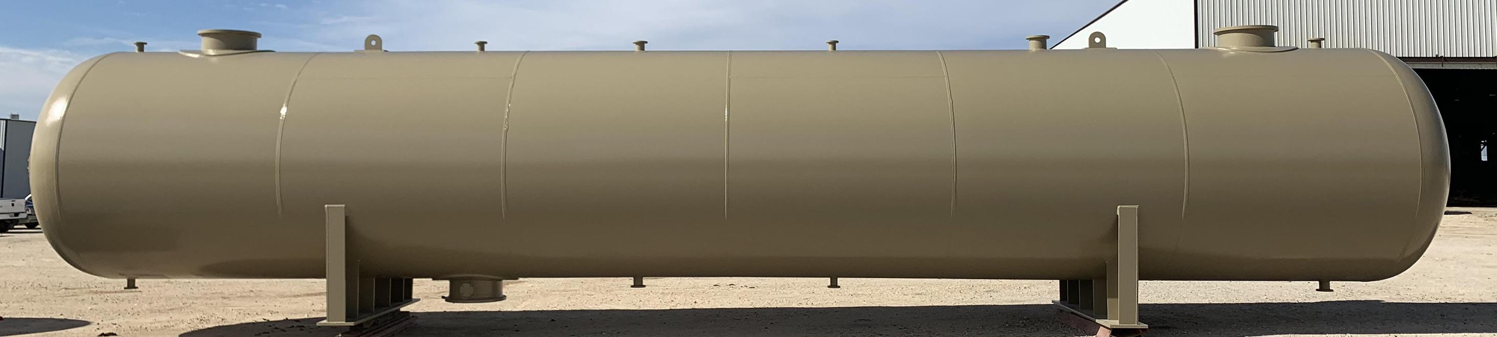 Horizontal Vessel-Type Slug Catcher - Engineering Design & Fabrication