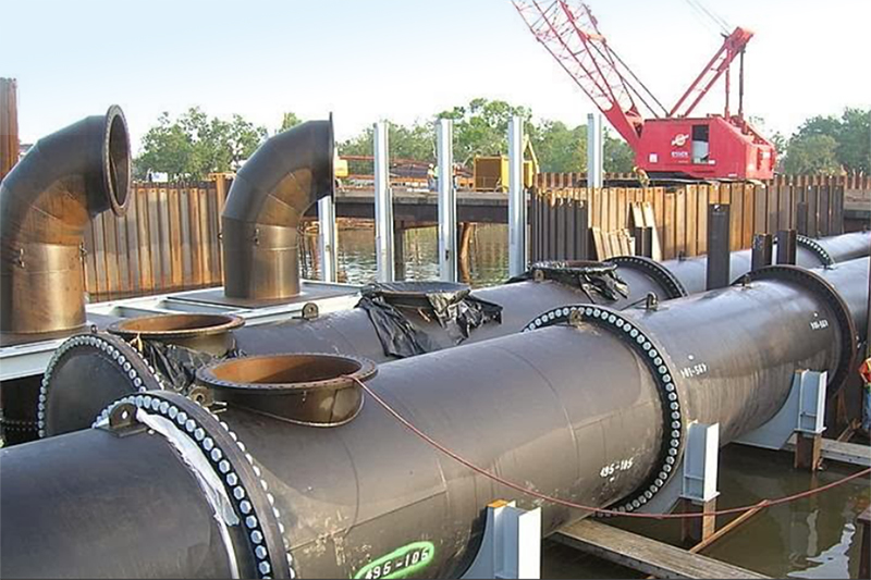 Industrial Fabrication Solutions - Custom Fabricated Heavy Piping