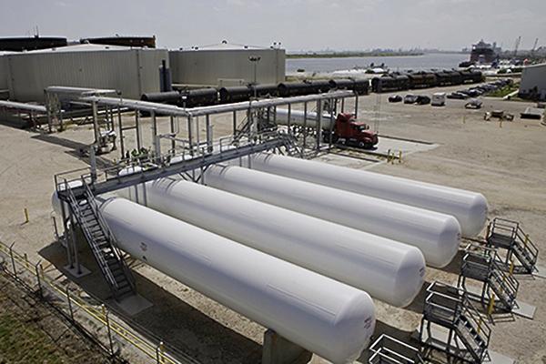 LPG Propane Bullet Fabricatin for Marine Terminals