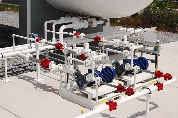 LPG Propane Pumps & Compressors for Bulk Storage