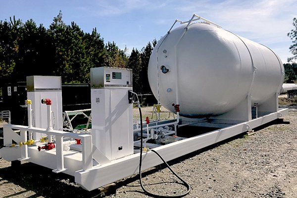 LPG Propane Storage Tank Fabrication for Autogas Dispenser Skids-1