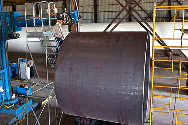 Large Capacity ASME vessel fabrication