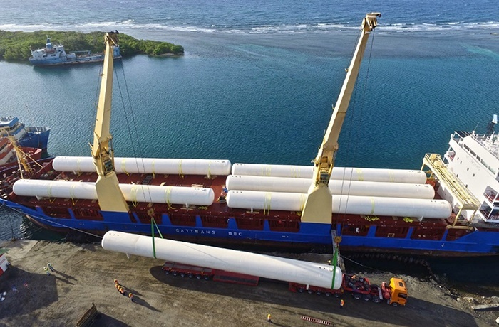 9 - LPG Propane Marine Terminal - Tanks unloading delivery and installation services.jpg