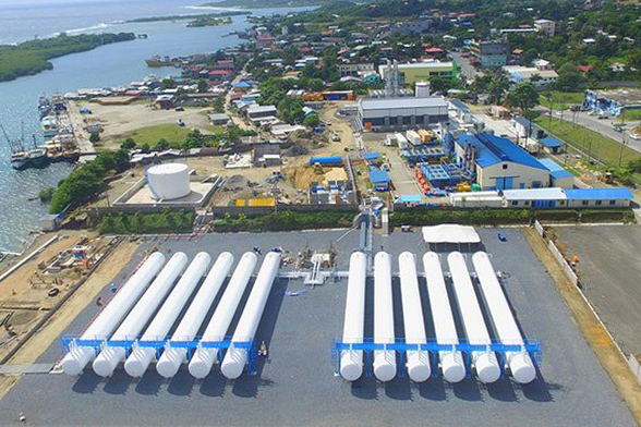 Modular LPG Import & Storage Terminal for LPG propane-air Power Generation - Engineering Construction
