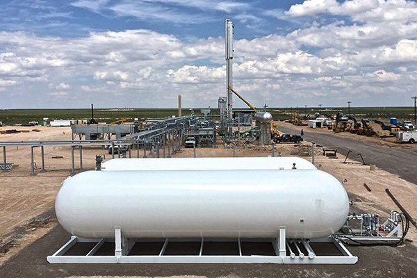 Modular NGL Storage Tank Skids - Engineering & Fabrication-1