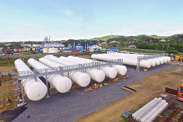 11 - Front View of Completed Modular LPG Propane Tank Battery - Engineering Fabrication Construction by TransTech Energy EPC.jpg