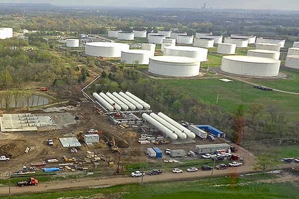 NGL ASME Storage Tanks Fabrication for Terminal Operations